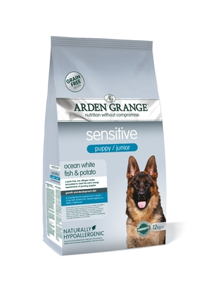 Arden Grange Puppy Junior Sensitive 12kg
