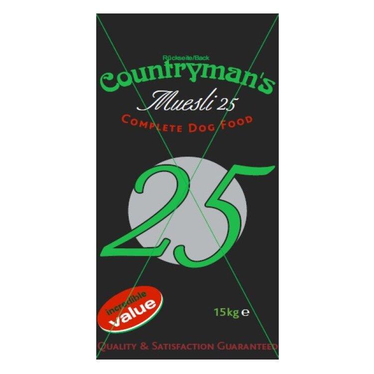 Countryman's Muesli 25% 15kg
