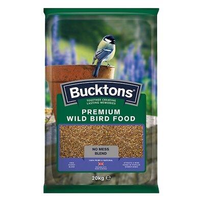 Bucktons Premium Wild Bird Seed Mix 20kg
