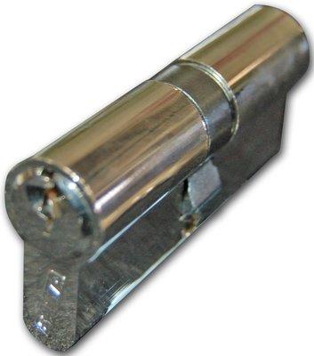 Basta Euro Cylinder Key/Key 45/45mm Nickel