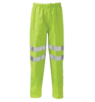 Fuji Flame Retardant Anti Static Hi-Visibility Trousers Yellow