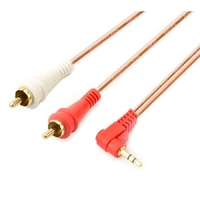 AP-R21-12 | RCA 2X1 CABLE, COPPER, 12FT,3.6M