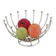 Fruit Basket Round Chrome Wireware
