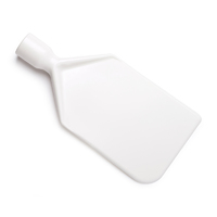 Paddle scraper blade