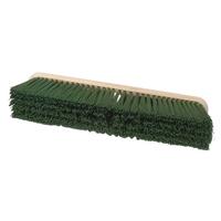 Green Poly Platform Broom Head 18'' H13/3