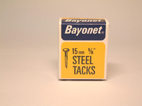 Bayonet Blued Tacks 15mm 50g - 10206