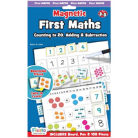 First Maths Magnetic activity set in packaging