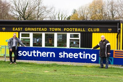 Celebrating 10 years of support for East Grinstead Town Football Club