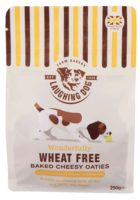 Laughing Dog Wheat Free Cheesy Oaties 250g  x 4