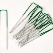 Half Green U-Pins