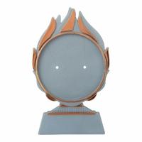 15cm Plastic Blaze Disc Holder (Bronze)