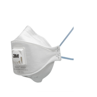 3M 9322+ FFP2 PARTICULATE RESPIRATOR MASK DISPOSABLE WITH VALVE FINE DUST&OIL & WATER BASED MISTS