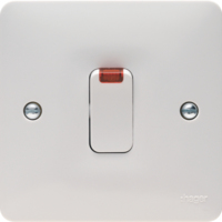 SOLLYSTA DOUBLE POLE SWITCH 20A WITH NEON INDICATOR