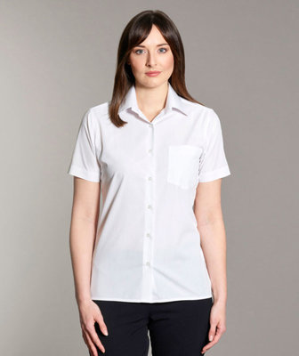 Disley Ladies Classic Short Sleeve Blouse