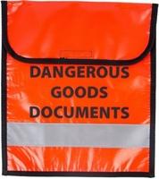 Dangerous Goods Document Bag - RED