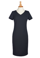 Brook Taverner Corinthia V-neck Dress