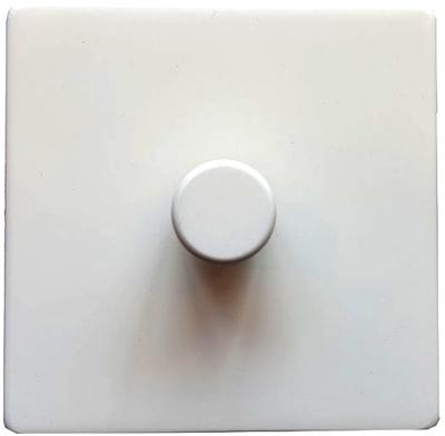DETA Screwless 1gang Dimmer White Metal   LV0201.0027