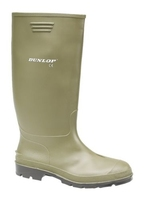 PAIR DUNLOP NON-SAFETY GREEN WELLINGTONS 380VP