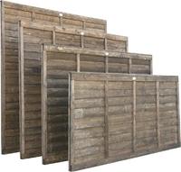 1.5m Lap Panel Dip Treated Brown