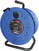 CABLE REEL 40 METRES 3X1.25 BLACK 220V 13A(4510094)
