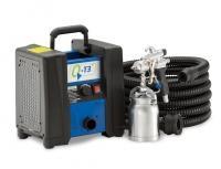 QTECH HVLP Turbine Sprayer c/w Gun and Hose