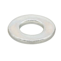 ZINC PLATED FLAT WASHER M8 EACH