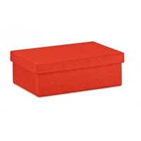 BOX GIFT & LID 300X200X100MM  RED