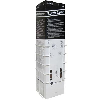 Surgical Scrub Brush Dispenser Rack for (Chlorhexidine Pack of 30)