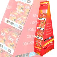247 Lighting Cardboard Floor Merchandiser