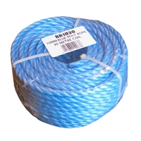 BLUE POLYROPE 10MM X 30MTR COIL