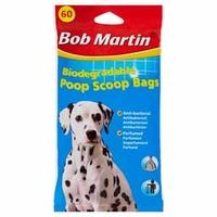 Bob Martin Biodegradable Poop Scoop Bags 60-Pack x 15