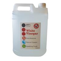 White Vinegar - 5-10% acidity - 5ltr