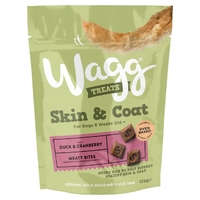 Wagg Dog Skin & Coat Treats 125g x 7