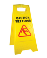 Caution Wet Floor Sign Yellow