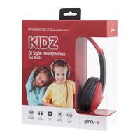 GV-590-RB Kidz DJ Deadphones Red & Black
