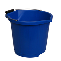Heavy duty plastic buckets
