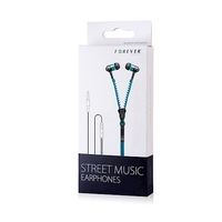 GSM002111 Zipper Headphones Blue
