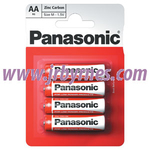 Panasonic  AA  Batteries 4pk x12