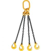4 Leg Chain Sling c/w Sling Hook (WLL 4T - 7T)