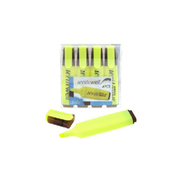 Koop Yellow Highlighter 4 Pack