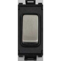 Schneider Ultimate Screwless Grid 2way Press Switch Module|LV0701.1054