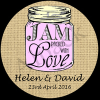 JAM PACKED WITH LOVE LABEL