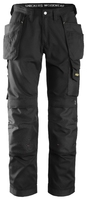 Snickers 3211 Craftsmen Holster Pocket Trousers, CoolTwill Black