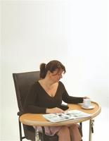 Kidney Overchair Table