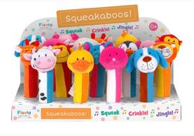 Squeakaboos, Ringaling & Buzzybody