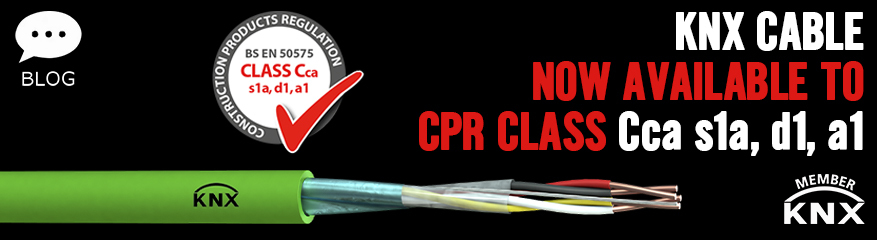 KNX Cable - Now Available to CPR Class Cca s1a, d1, a1