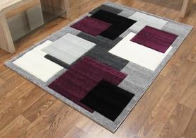 Squares Black/Purple