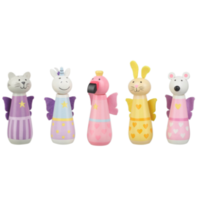 Fairy animal skittle set