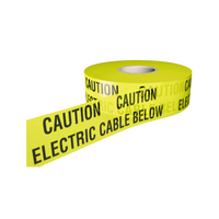 Safety Tape -Electric cable- 365m Roll