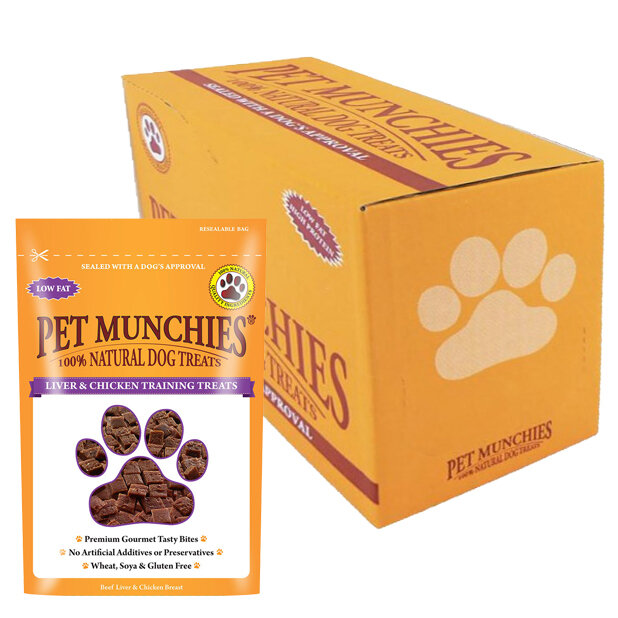 Pet Munchies Liver Training Treat 8 x 50g